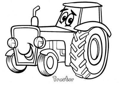free print out tractor coloring pages for kids printable