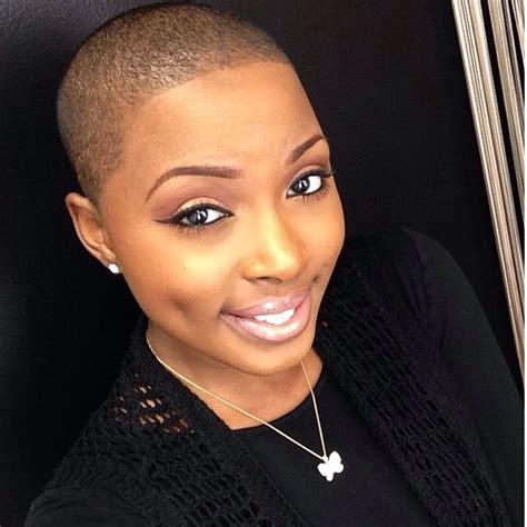 african american women with low or bald heads bald beauty natural bald twa brush cuts fades afros