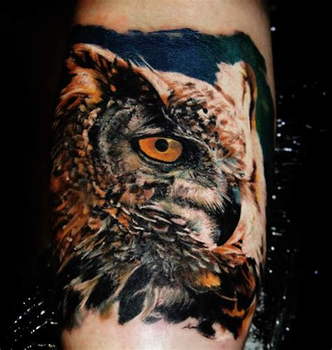 realistic owl tattoos 78 best ideas about realistic owl on