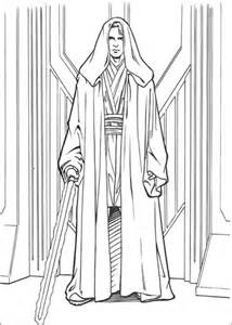 Anakin Skywalker coloring page | SuperColoring.com