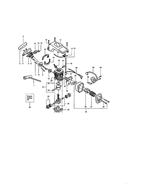 Need Diagram For Fuel Lines For Craftsman Chainsaw Model
