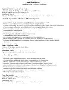 Resume Format For Mba Logistics Supervisor Resume Exles Resume Exle 21 Best Best Construction Resume Templates U0026