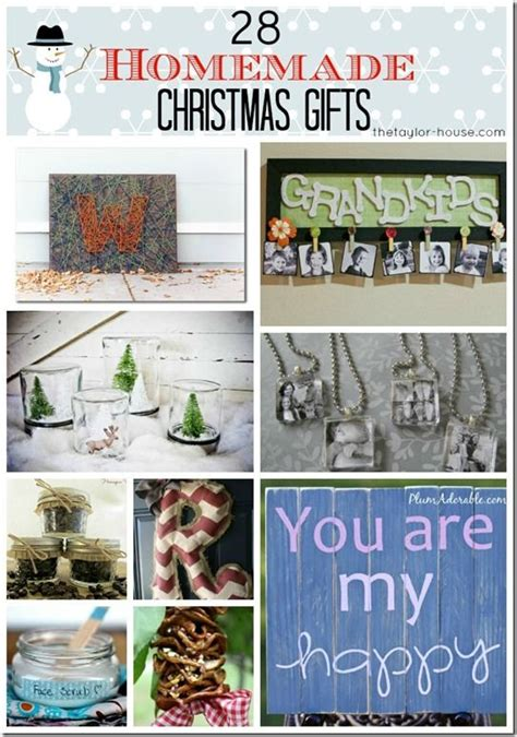 Handmade Gifts Ideas For Friends - 28 gifts for friends or family