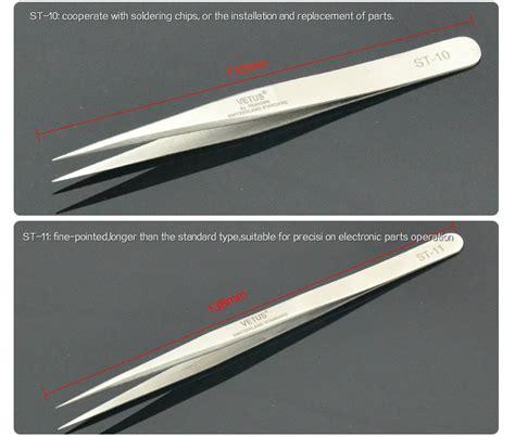 Vetus Tweezers Vetus Pincet individual eyelash extension tweezers stainless mink