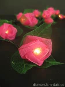 led flower string lights 20 mini flower battery operated string led