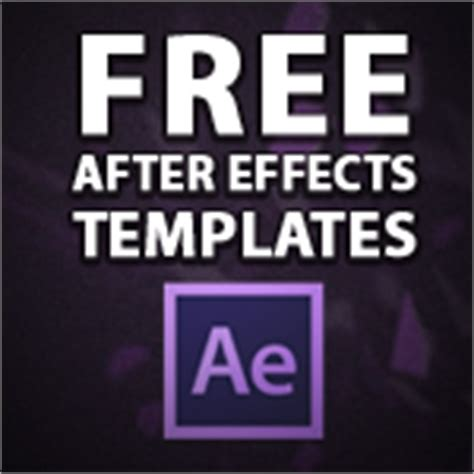 free after effects templates 10 free after effects templates the beat a by