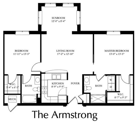 Standard Size For Walk In Closet by Armstrong Providence Point