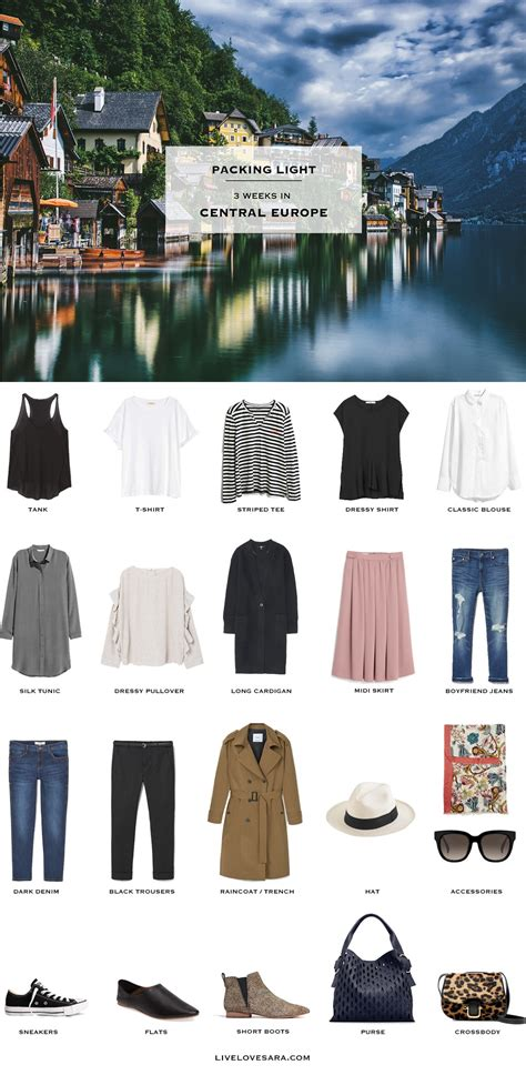 packing light for travel what to pack for central europe packing light livelovesara