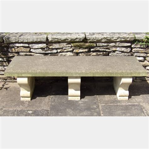 limestone bench carved limestone bench garden benches holloways garden