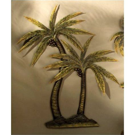 palm tree decor for bedroom palm tree decor coco palm tree metal wall decor home