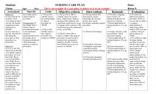 How To Write A Nursing Care Plan Template by Search Results For Exle Of A Teaching Plan Nursing