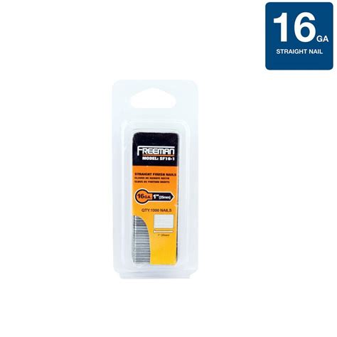 freemans home freeman 1 in 16 finish nail sf16 1 the