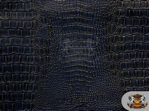 crocodile upholstery fabric vinyl crocodile allie navy blue fake leather upholstery fabric