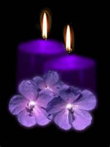 Pretty Candles Pretty Purple Candels Candles Photo 10937220 Fanpop