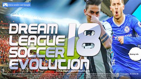 download game dream league mod apk data dream league soccer 2018 dls 18 apk obb data download