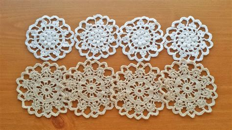 doily crafts for vintage crochet doilies small craft doilies set by