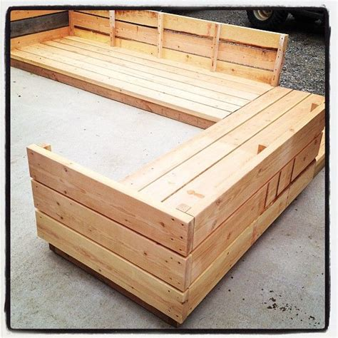 diy platform couch ana white build a platform outdoor sectional free and easy diy project and furniture plans