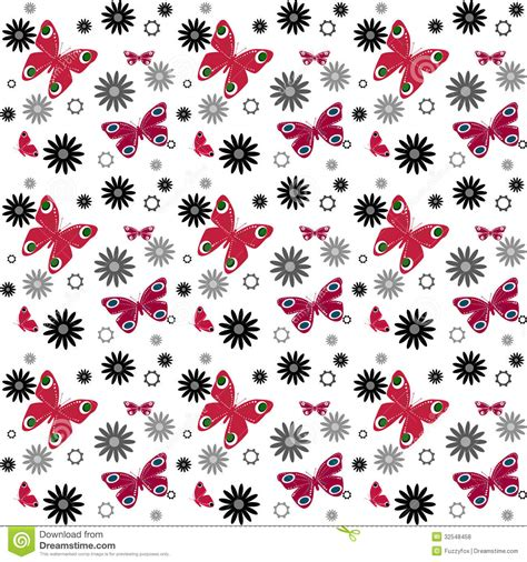butterfly pattern stock butterfly seamless pattern royalty free stock photos