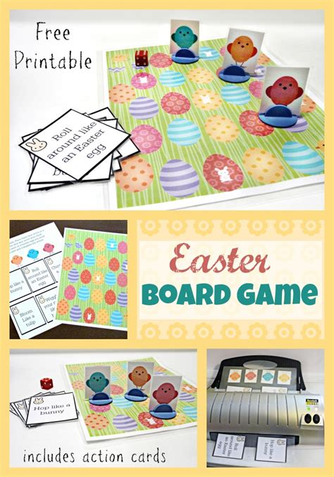 printable easter board games fun printable easter board game more excellent me