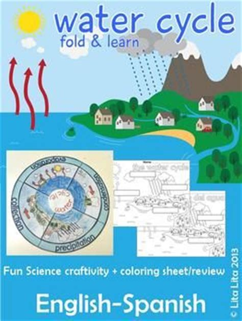 water cycle foldable template water cycle worksheets and student on