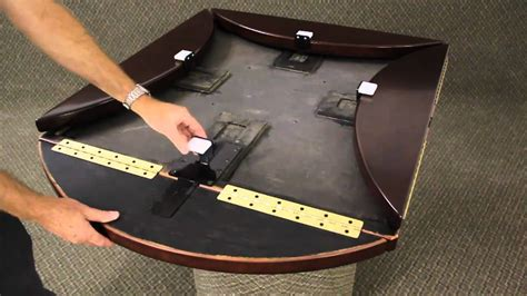 folding table leaf brackets tabletopics drop leaf mechanism youtube