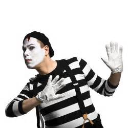 Be Right Back Bookend mime with white gloves flickr photo sharing