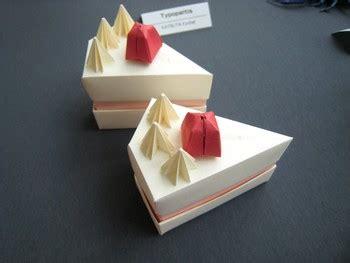 Origami Cake Box - makoto yamaguchi gilad s origami page
