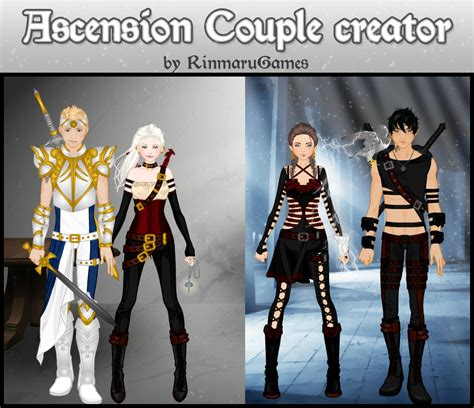 Ascension Couple Creator Human By Rinmaru On Deviantart | ascension couple creator human by rinmaru on deviantart