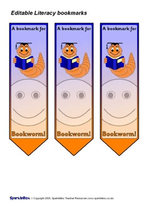 printable bookmarks sparklebox printable award bookmarks for primary ks1 ks2 sparklebox