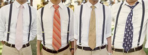 mens wedding attire with suspenders vintage wedding s attire