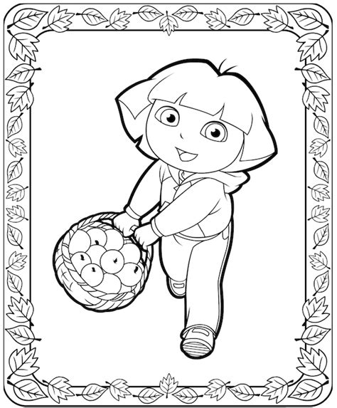 dora thanksgiving coloring page free coloring pages of thanksgiving dot to dot