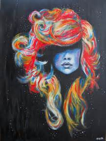 cool colorful drawings cabelo colorido desenho draw drawing drawings image