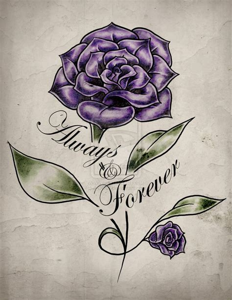pictures of purple rose tattoos 34 best small purple images on