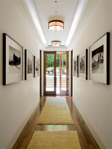 small hallway lighting ideas easy ways to make your hallways look bigger brighter