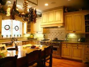 Kitchen Decorating Themes Home Kitchen Country Home Kitchen Decorating Ideas