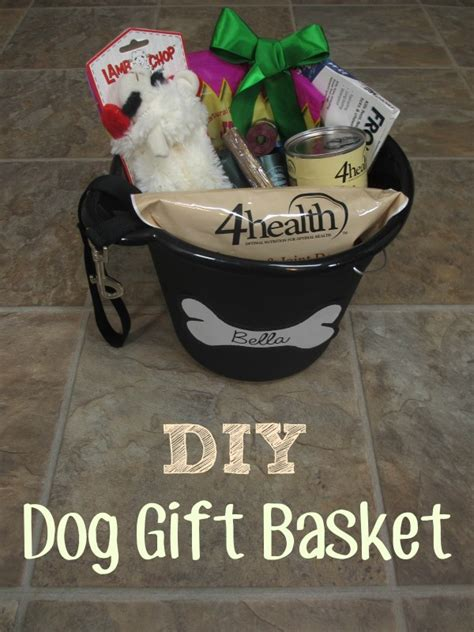diy dog gift basket christmas or donation idea emily reviews