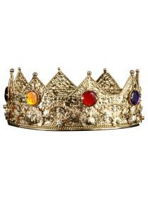 Gold king crown halloween costumes 2017