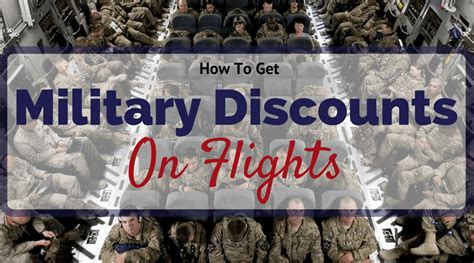 Military Discounts On Flights
