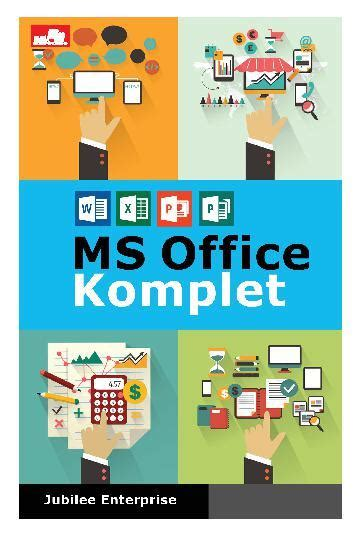 Buku Microsoft Exel jual buku ms office komplet oleh jubilee enterprise scoop indonesia