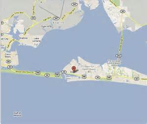 destin florida map images
