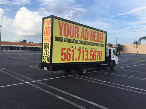 mobile billboard advertising mobile billboard advertising services