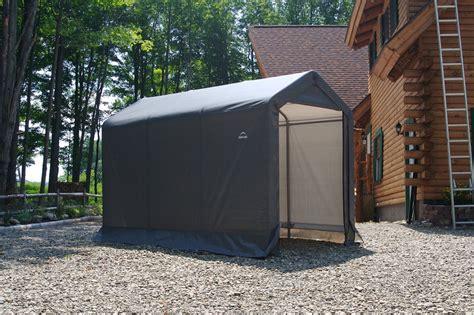 Tarp Storage Shed by Shelterlogic 6 X 10 Instant Storage Shed Canopy 70403