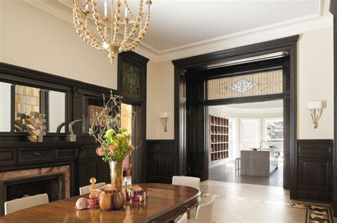 Dining Room White Moulding Dining Room Dining Room New York By