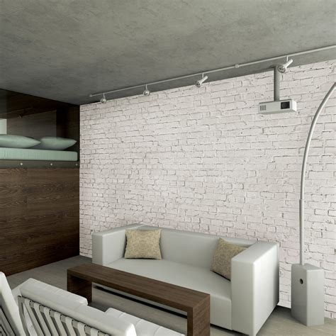 white brick wallpaper bedroom white loft brick wall 1 wall murals touch of modern