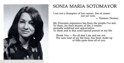 biography yearbook sonia sotomayor reveals that her husband brought a bag of