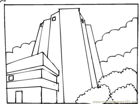 skyscraper coloring page az coloring pages