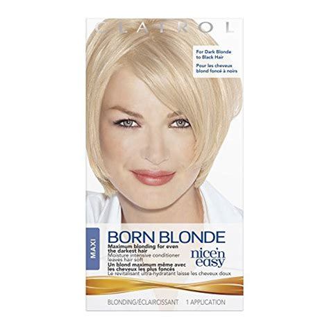 Maxi Color Box 4 In1 clairol n easy born hair color maxi 1 kit