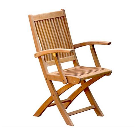 Folding Wooden Chair by Teak Folding Chairs Teakout