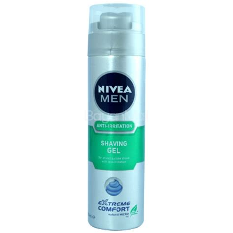 nivea extreme comfort shaving gel nivea men anti irritation shaving gel extreme comfort