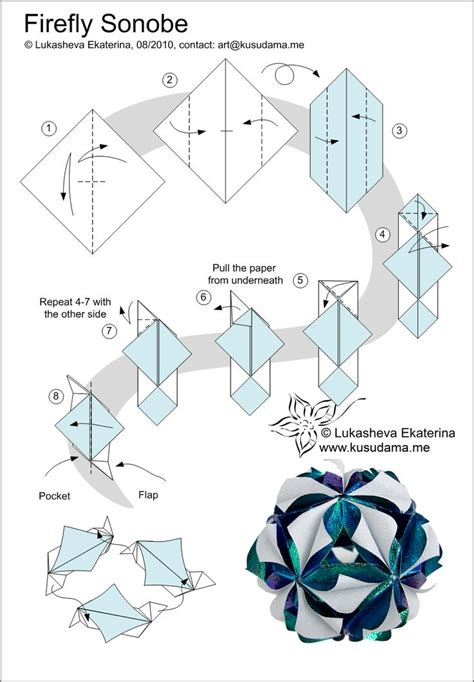 Modular Origami Pdf - 38 best creative sonobe images on modular